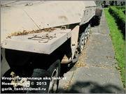 Немецкий средний полугусеничный бронетранспортер SdKfz 251/1 Ausf D, Музей Войска Польского, г.Варшава, Польша.  Sd_Kfz_251_058