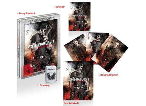 The Expendables 3 (Los Mercenarios 3) 2014 - Página 10 Steel_book_3