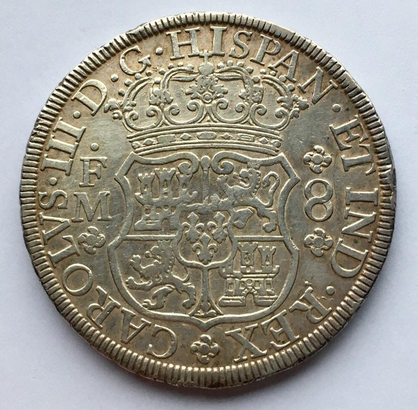 8 reales 1771. Carlos III. Méjico F.M. Columnario IMG_0478