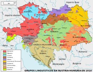 5Coronas 1908 Francisco José I Hungria Austria_Hungary_ethnic_ES_svg