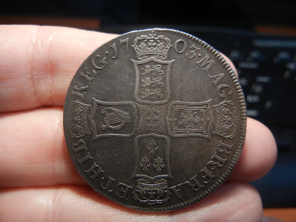 1 Corona 1703. Londres (Inglaterra). Reina Ana de Estuardo. (VIGO en anverso) 1_corona_vigo_reverso