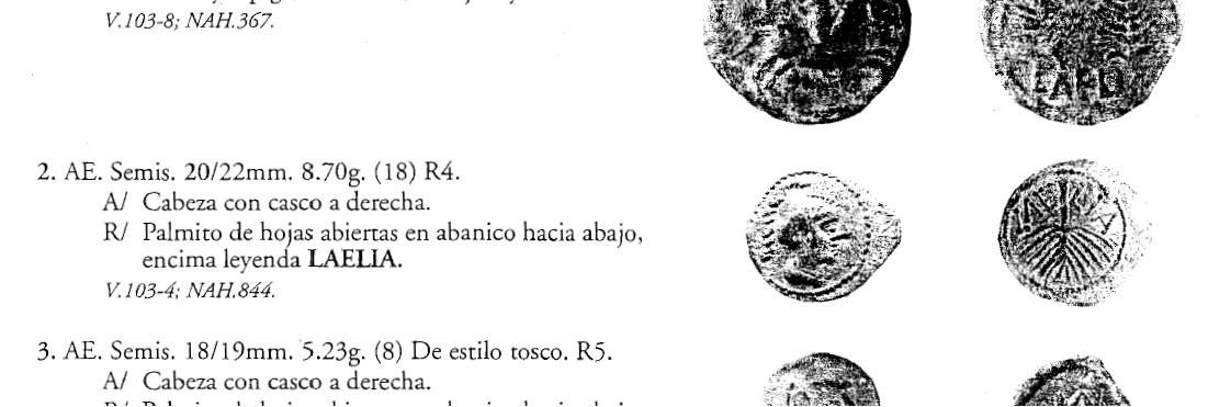 AE25 de la Rebelión de Bar Kojba. Judea. 132-135 d.C. Laelia2