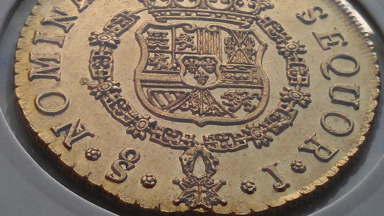8 escudos 1751. Fernando VI. Santiago. (Emiliano dedit). IMAG0504