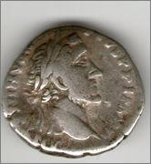 Denario de Antonino Pío. TR POT XX COS IIII. Annona. Roma. Smg_647a