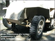Немецкий средний полугусеничный бронетранспортер SdKfz 251/1 Ausf D, Музей Войска Польского, г.Варшава, Польша.  Sd_Kfz_251_050