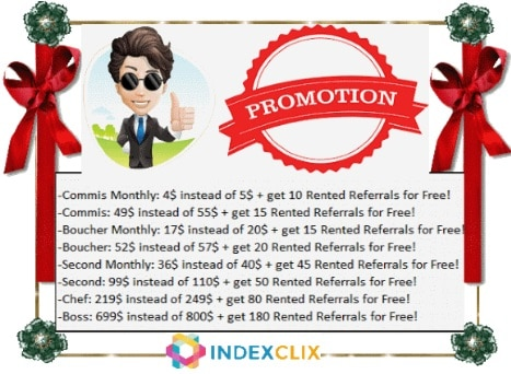 IndexClix - indexclix.com Promo