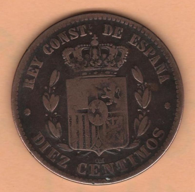 10 Centimos 1878 Alfonso XII Reverso_ALFONSO_XII