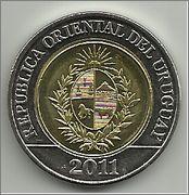 10 pesos Uruguay 2011 Puma 10_pesos_2011_Uruguay_a