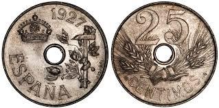 La progesion de la peseta y su decadencia. Images