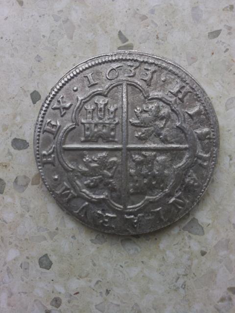 8 reales 1633/17. Felipe IV. Segovia. Moneda1