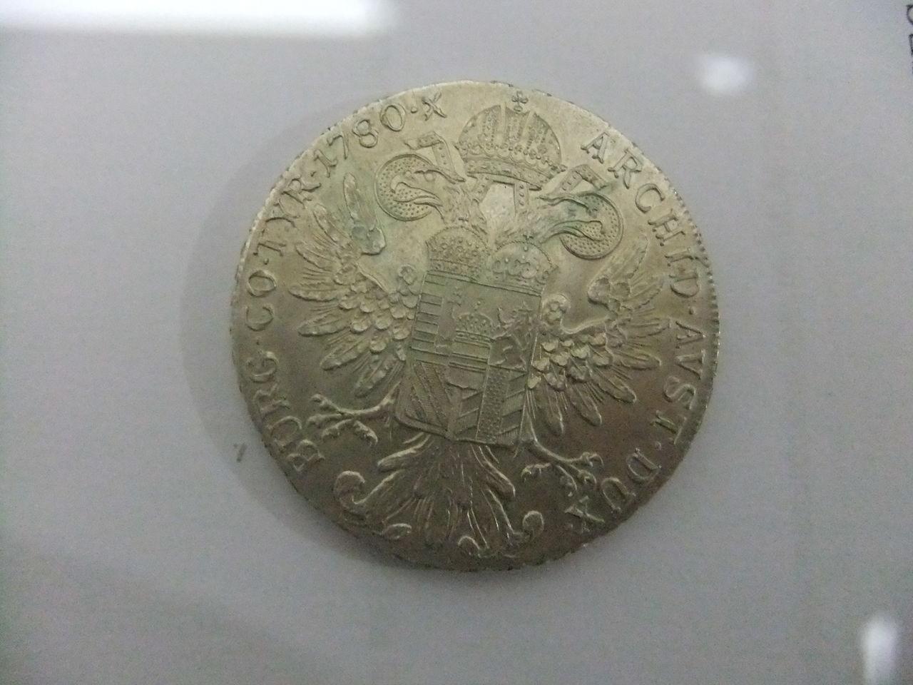 1 Thaler de Maria Teresa. Austria. 1780. Reacuñación. DSCF1668