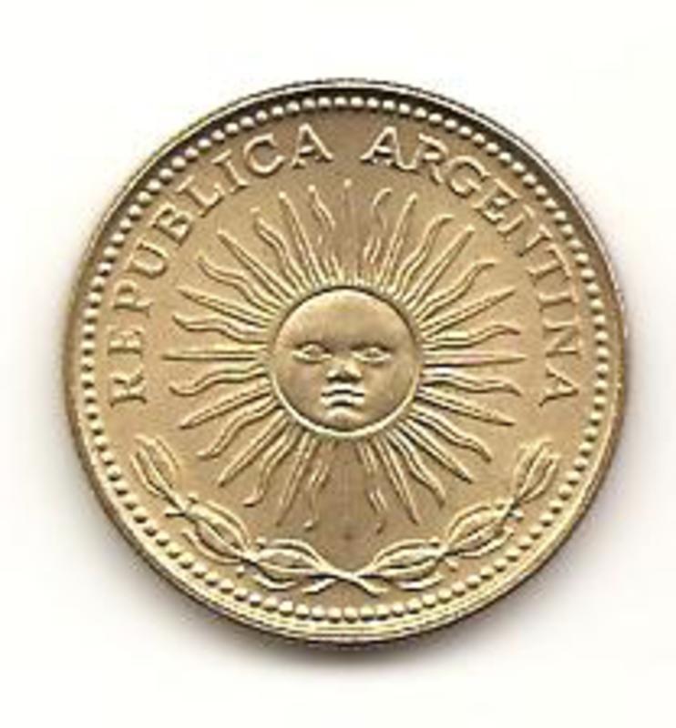 1 Peso. Argentina. 1976  Image