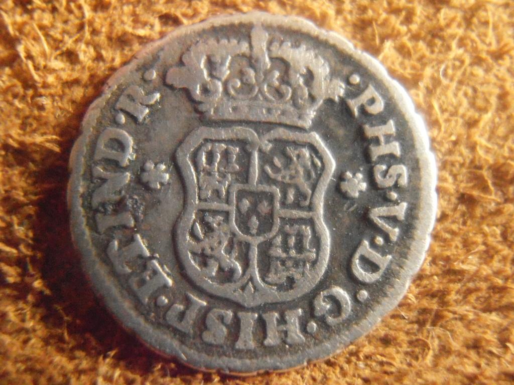 1/2 Real columnario Felipe V , ceca México 1746 P9040006