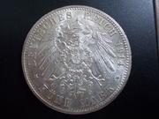 5 Marcos prusianos de 1.914, Imperio alemán DSCN1456