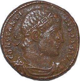 AE3 de Constantino I 227