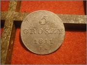 5 Groszy - Friedrich August I Gran Ducado de Varsovia 1811 I.S PC090233