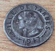 10 céntimos  Ville de Tarbes 1917  Francia  Image