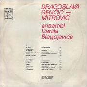 Dragoslava Gencic - Diskografija  Dragoslava_Gencic_1973_z