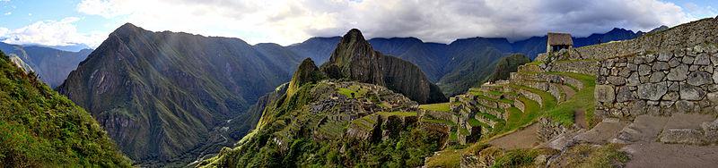 MONEDA UN NUEVO SOL DE PERU (2011) -MACHU PICCHU AAA_OTRA_VISTA_PANORAMICA_DE_MACHU_PICCHU