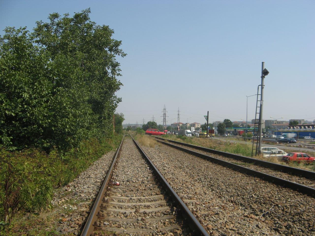Calea ferată directă Oradea Vest - Episcopia Bihor IMG_0008