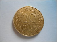 20 Centimes. Francia. 1981 DSC04021
