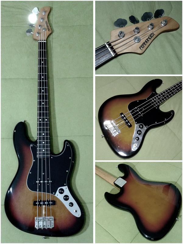 Mostre o mais belo Jazz Bass que você já viu - Página 8 Montagem
