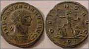 Aureliano de Aureliano. ORIENS AVG. Sol. RIC_0061