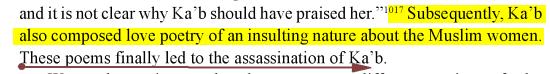Ka'b ibn al-Ashraf :Meurtre Killing Image