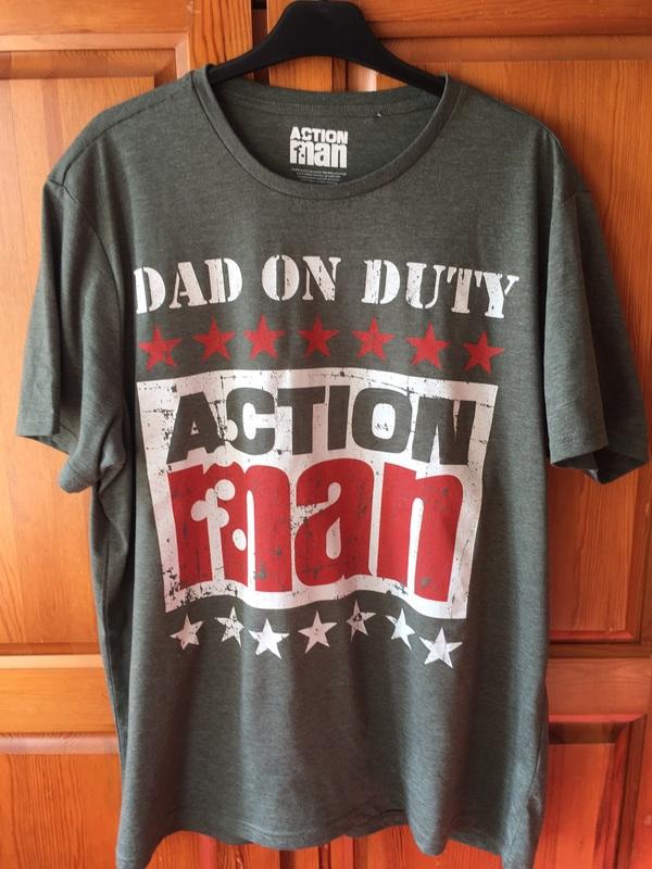 Action Man T-Shirt.  Image