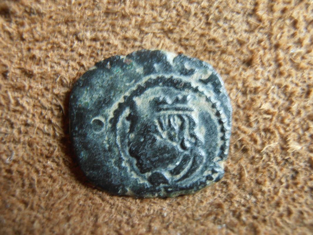 dinero valenciano de CARLOS II falso de época P6020016