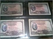 Billetes republicanos con resello de Franco FALSO (Águila de San Juan) - Página 2 Friki