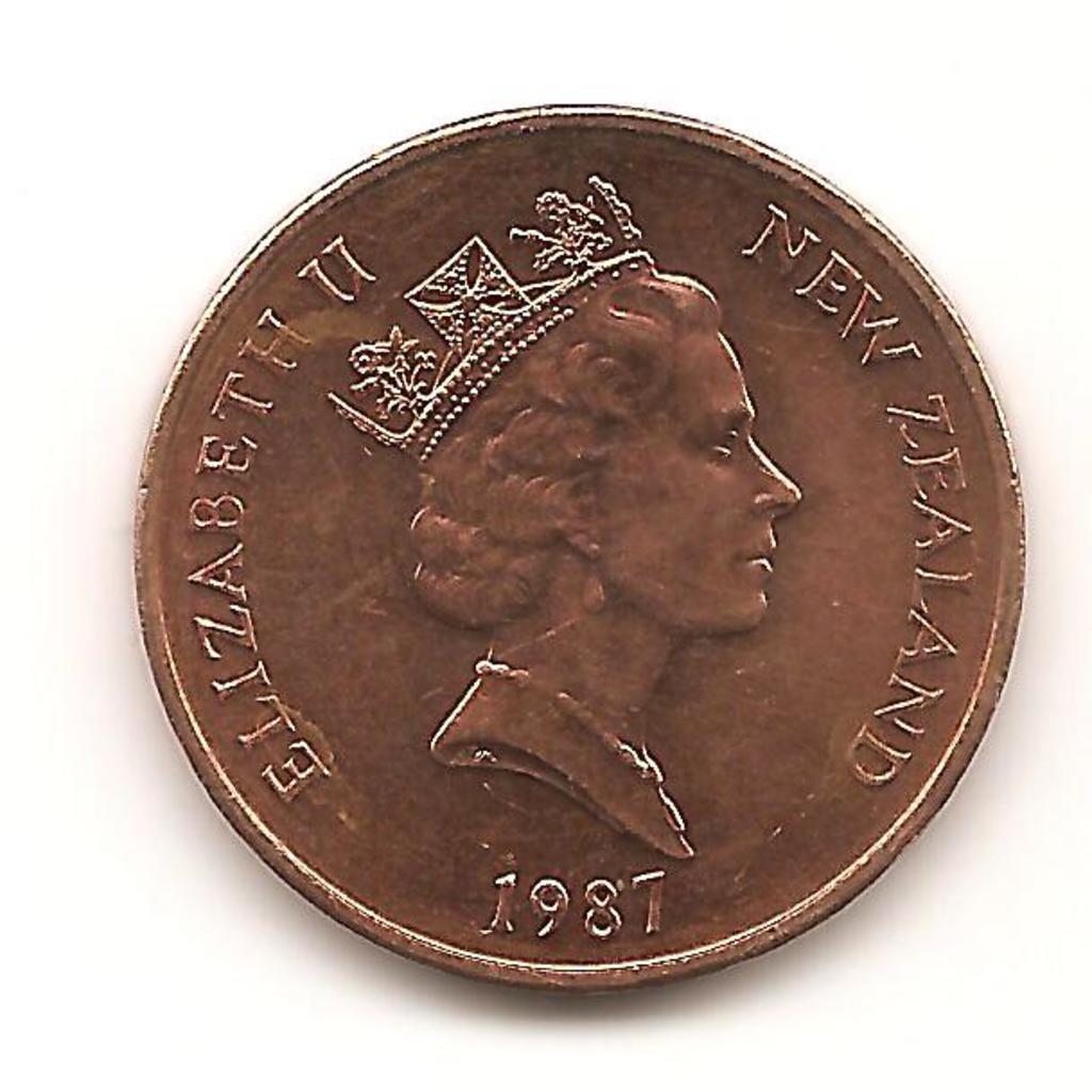 2 Cents. Nueva Zelanda.  1987   Image