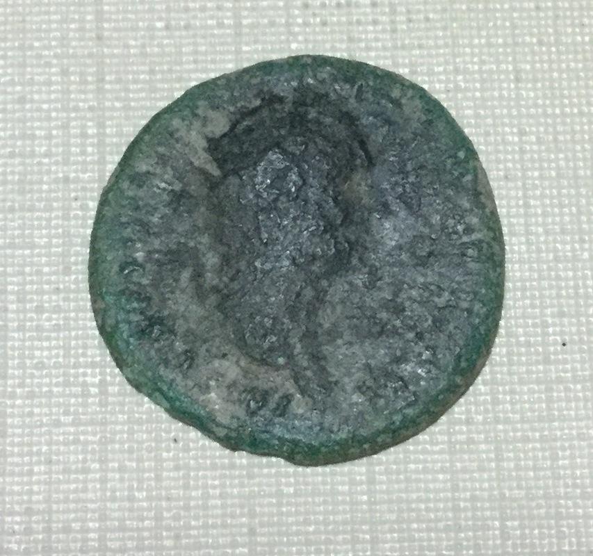 As de Domiciano. Minerva estante a dcha. Ceca Roma. IMG_0015