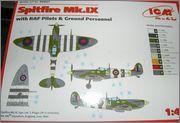 Supermarine Spitfire MkVb, Ιωάννης Αγοραστός Πλαγής, Μάλτα 1942. P1011323