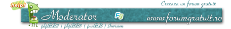 Concurs semnaturi Forumgratuit: Alegeti castigatorii! - Pagina 3 Moderator