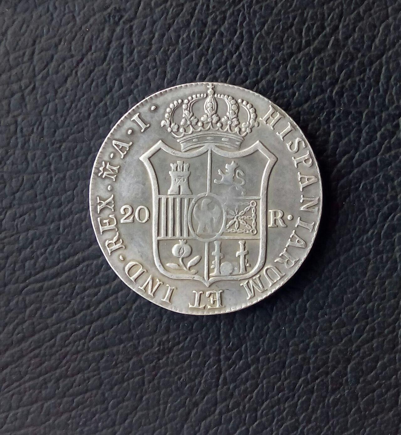 20 Reales 1810. José I Bonaparte.   IMG_20160210_095429