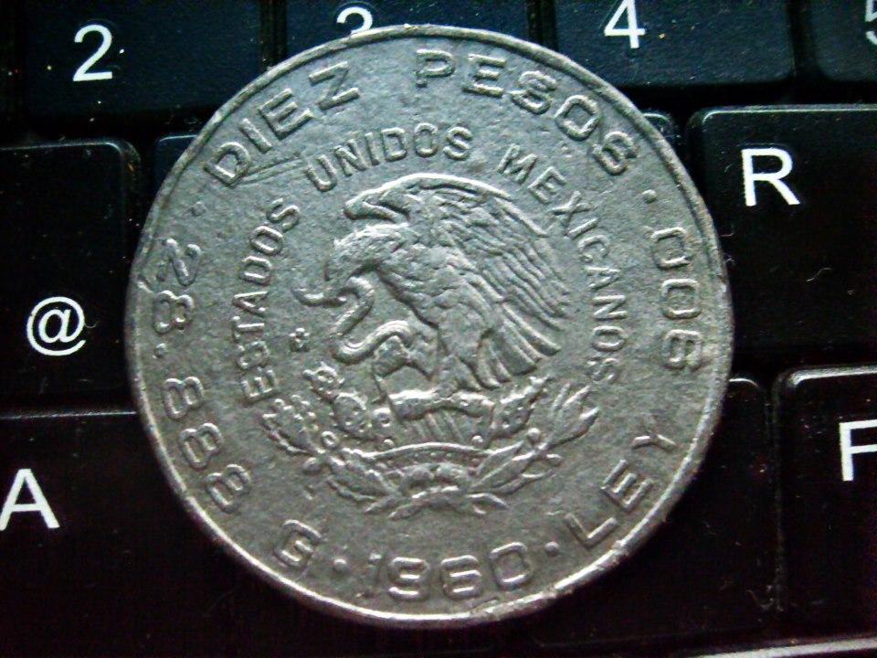 diez pesos 1960 mexico conmemorativa independencia 1810-1910 230804_494838433914053_1433871476_n