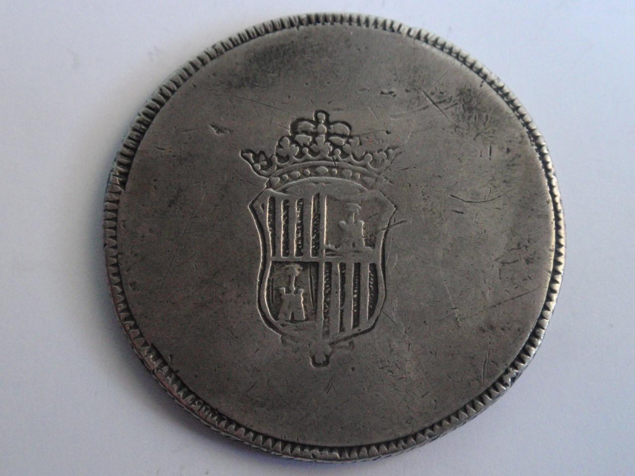Pasarela de moda numismática Fernandina en Palma: Crónica. 8reales_004