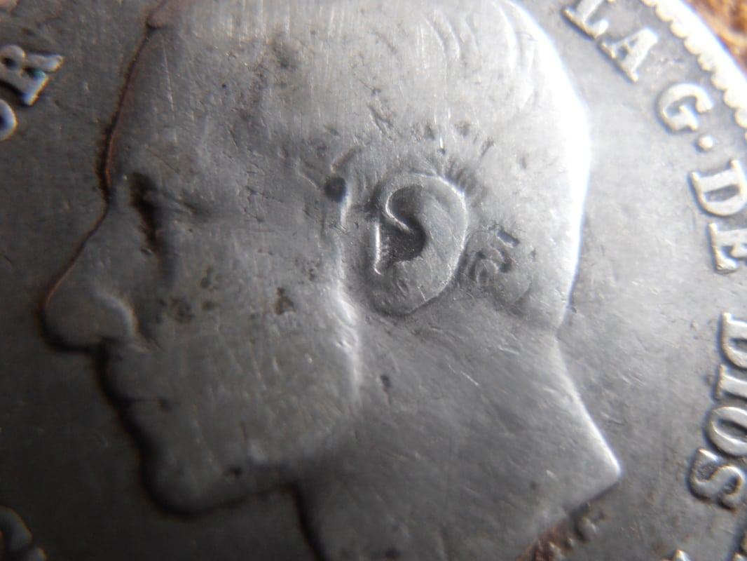 1 Peseta 1881. Alfonso XII. Variante oreja rayada P2190002
