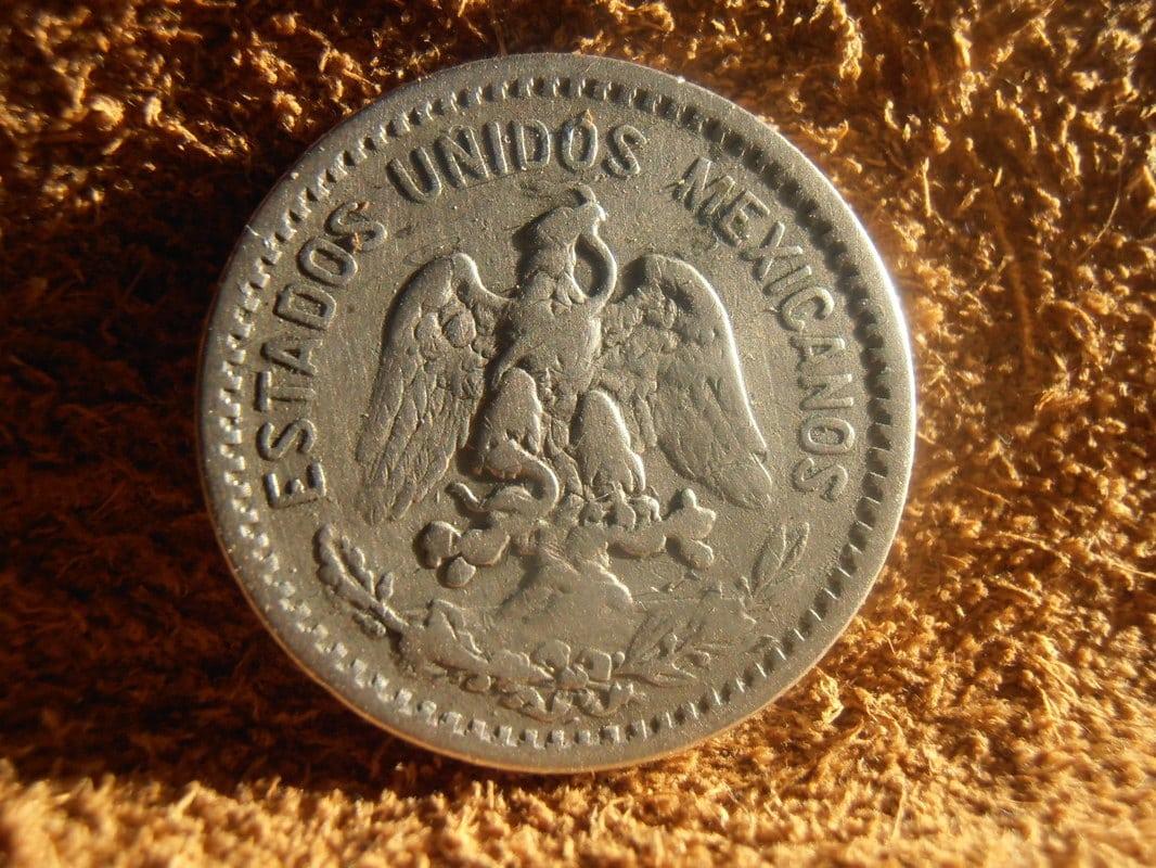 20 centavos resplandor México de 1907 P2270005