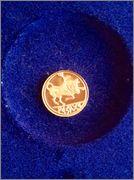 Reproducción Dracma Arse en oro 18k Image
