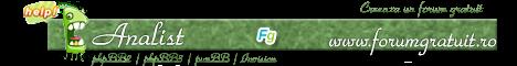 Concurs semnaturi Forumgratuit: Alegeti castigatorii! - Pagina 3 Analist