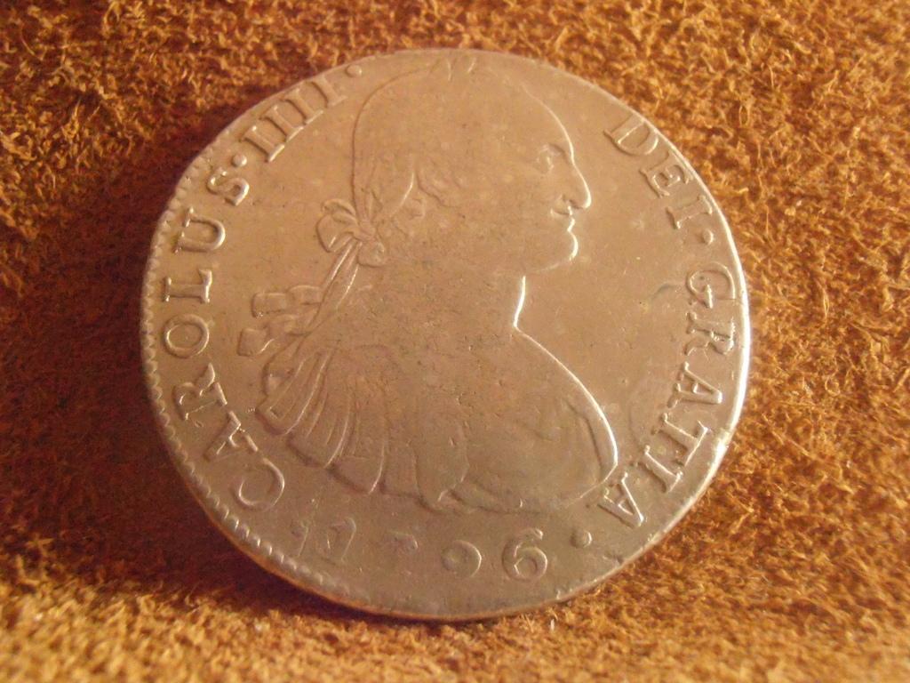 8 Reales 1796 Carlos IV. Lima P9050011