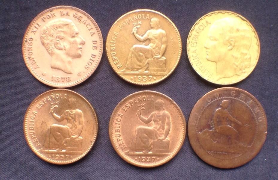 50 céntimos 1937- Variante Latón Image