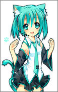 Cute Pics and other adorable things.  - Page 2 Vocaloid_Neko