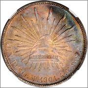 1 Peso 1901 Mo AM MEXICO  Image