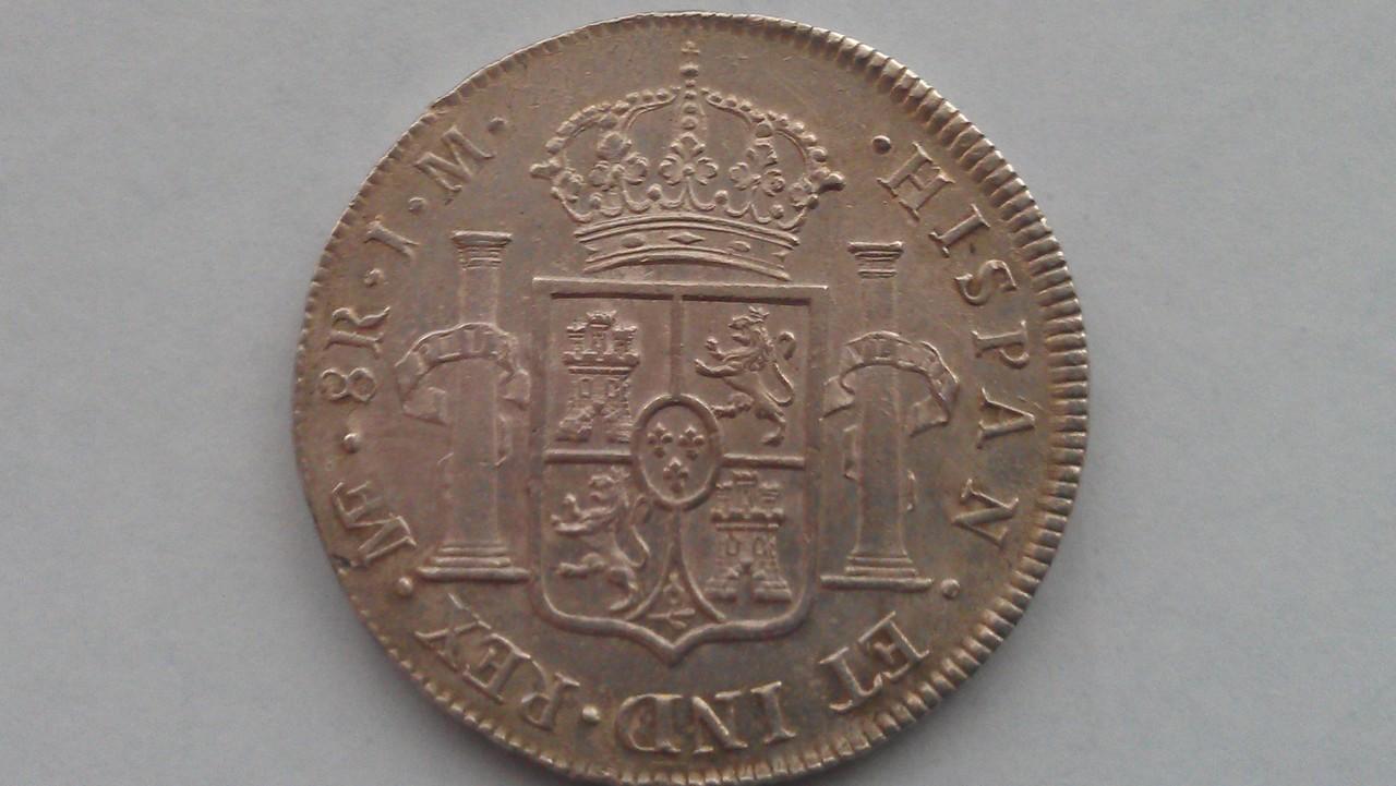 8 reales Carlos III 1773  Lima IMAG0862