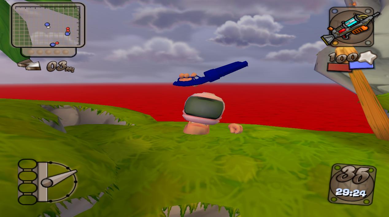 Worms 4 Mayhem Tweaking Mods - Portal Sapphire_Shotgun