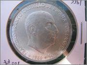 """100 PESETAS DEL ESTADO ESPAÑOL 1966 *69 """"PALO RECTO"""" 100_pts_franco_1966_estrella_69_palo_recto_anv"""