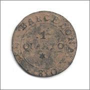 1 Quarto 1810 Barcelona Anverso